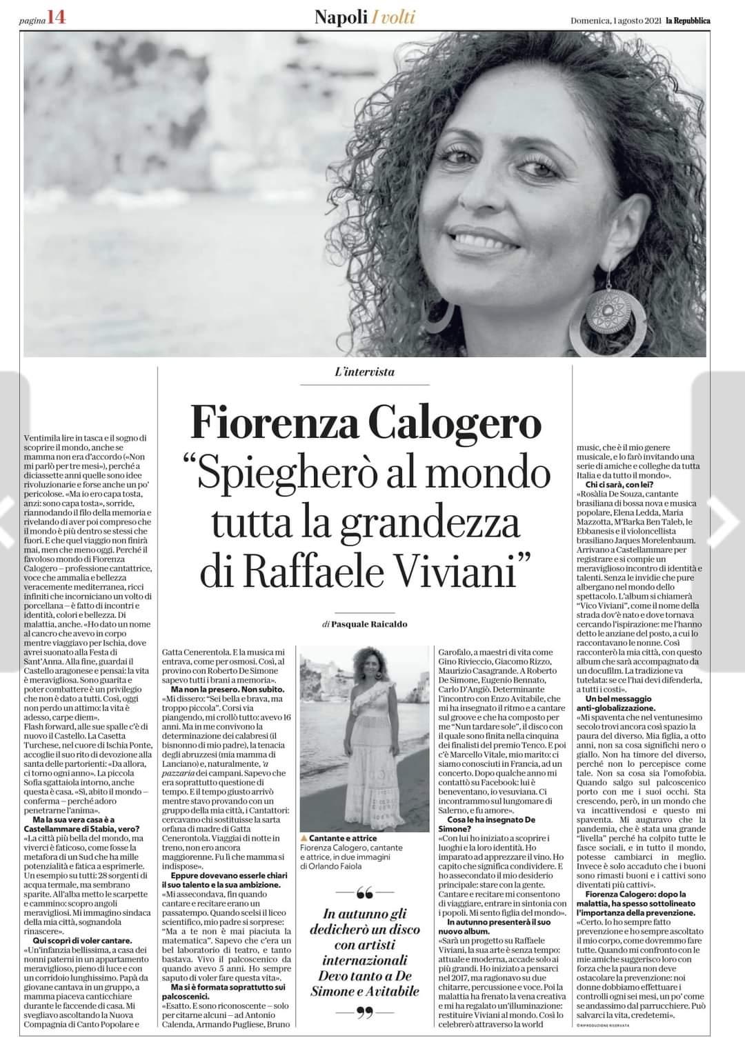 Repubblica 2 Agosto 2021