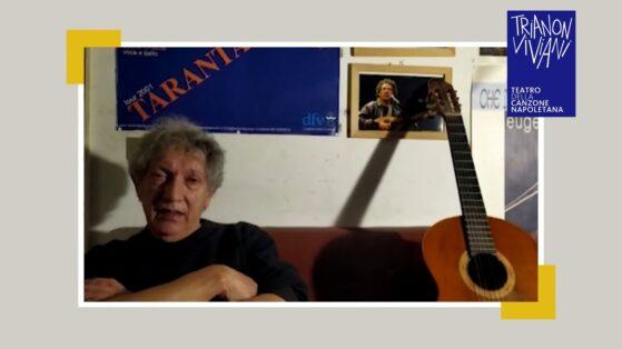 Eugenio Bennato introduce Fiorenza Calogero in NapulAnnura